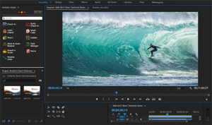 Collaborative video editing and media management within your creative applications