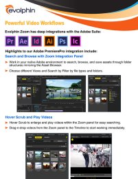 Zoom VideoFX Powerful Video Workflows
