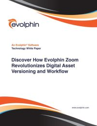 Discover How Evolphin Zoom Revolutionizes Digital Assets Versioning and Workflow
